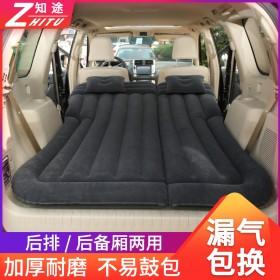 汽车SUV后排后备箱旅行床 车内后座气垫床睡觉神器床垫车载充气床