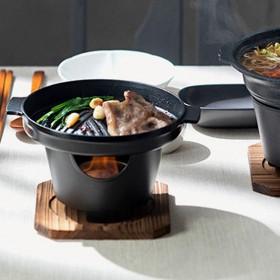 日式一人食不沾烤肉炉家用迷你烧烤炉踏青便携烤肉锅户外料理锅