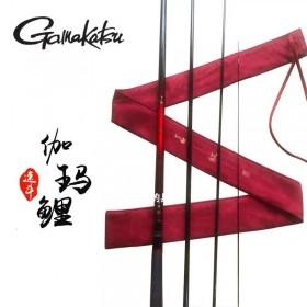 Gamakatsu/伽马卡兹伽马鲤.红 3H4H/3.6/4.5/5.4米竞技鲤竿