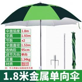 头戴式沃鼎三万向米雨伞头带便携太阳伞防晒渔具钓鱼伞大钓伞头戴