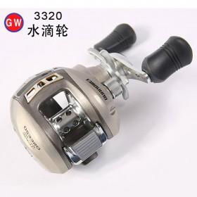 光威DS3320左右手路亚水滴轮钓鱼远投鱼线轮枪柄路亚轮鲈鱼鱼线轮